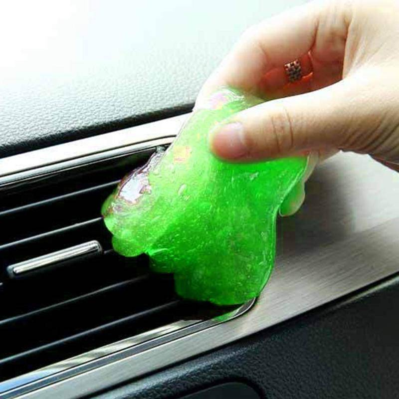 AS SEEN ON TV Magic Cleaning Gel (car vent, keyboard, etc) Kills Germs Free Shipping Man Cave